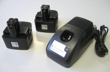 Kit batterie e carica batteria