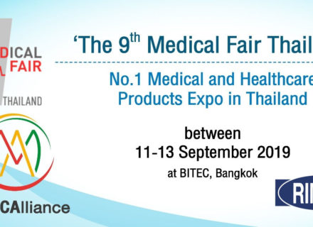MEDICAL FAIR THAILAND 2019 Cover